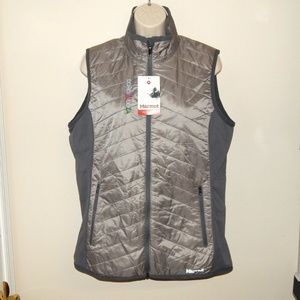 Marmot Womens XL Variant Insulated Vest Silver